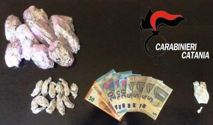 CATANIA: Sgominata banda di spacciatori, sei persone in manette